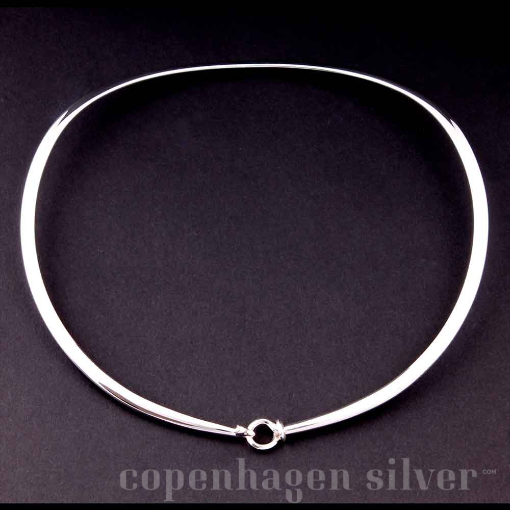386e83848 Georg Jensen Sterling Silver Neckring # 410 | Copenhagen Silver