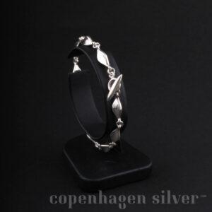 PEAK Georg Jensen Silver Bracelet # 12315 6 Links